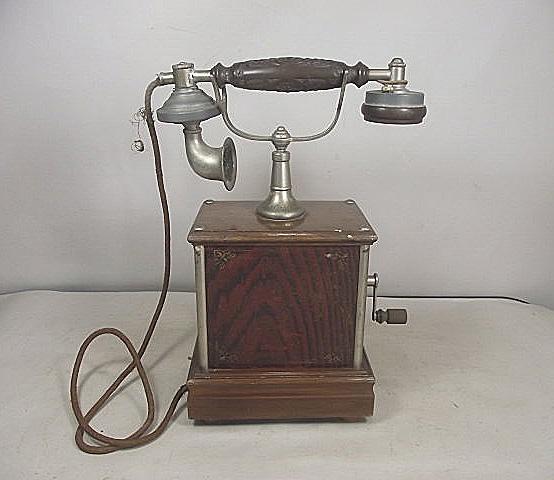【白藤】◆アンティーク電話機◆電話機◆**2**◆