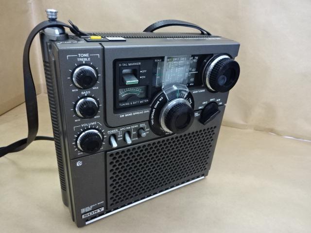 箱付 スカイセンサー 9500 ソニートランジスターラジオ SONY ICF-5900 SW DUAL CONVERSION SYSTEM Skysensor 5900 FM 美品 _画像2