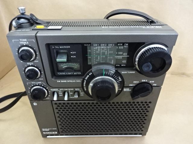 箱付 スカイセンサー 9500 ソニートランジスターラジオ SONY ICF-5900 SW DUAL CONVERSION SYSTEM Skysensor 5900 FM 美品 _画像3