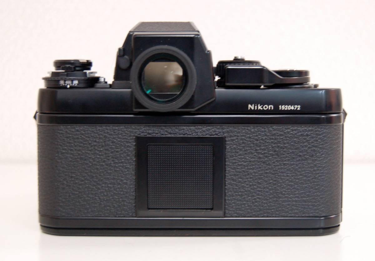 Nikon F3 ブラックボディ カメラ Zoom-NIKKOR 35-70mm 1:3.3-4.5 レンズ ニコン 一眼レフカメラ セット カバー付き ジャンク 1円から_画像6