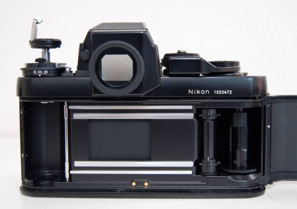 Nikon F3 ブラックボディ カメラ Zoom-NIKKOR 35-70mm 1:3.3-4.5 レンズ ニコン 一眼レフカメラ セット カバー付き ジャンク 1円から_画像8