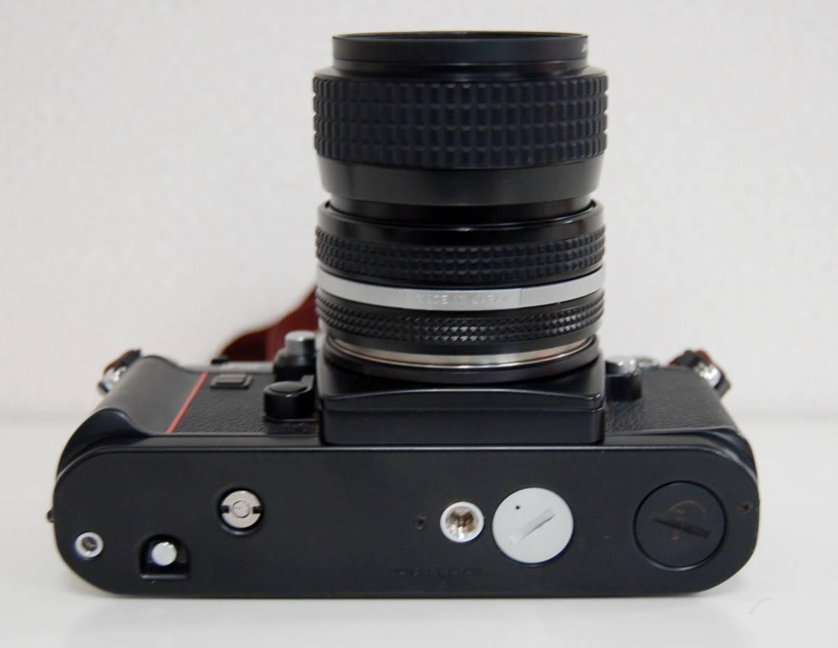Nikon F3 ブラックボディ カメラ Zoom-NIKKOR 35-70mm 1:3.3-4.5 レンズ ニコン 一眼レフカメラ セット カバー付き ジャンク 1円から_画像5