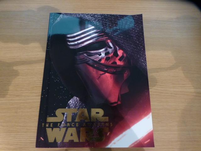 STAR WARS スターウォーズ フォースの覚醒 パンフレット