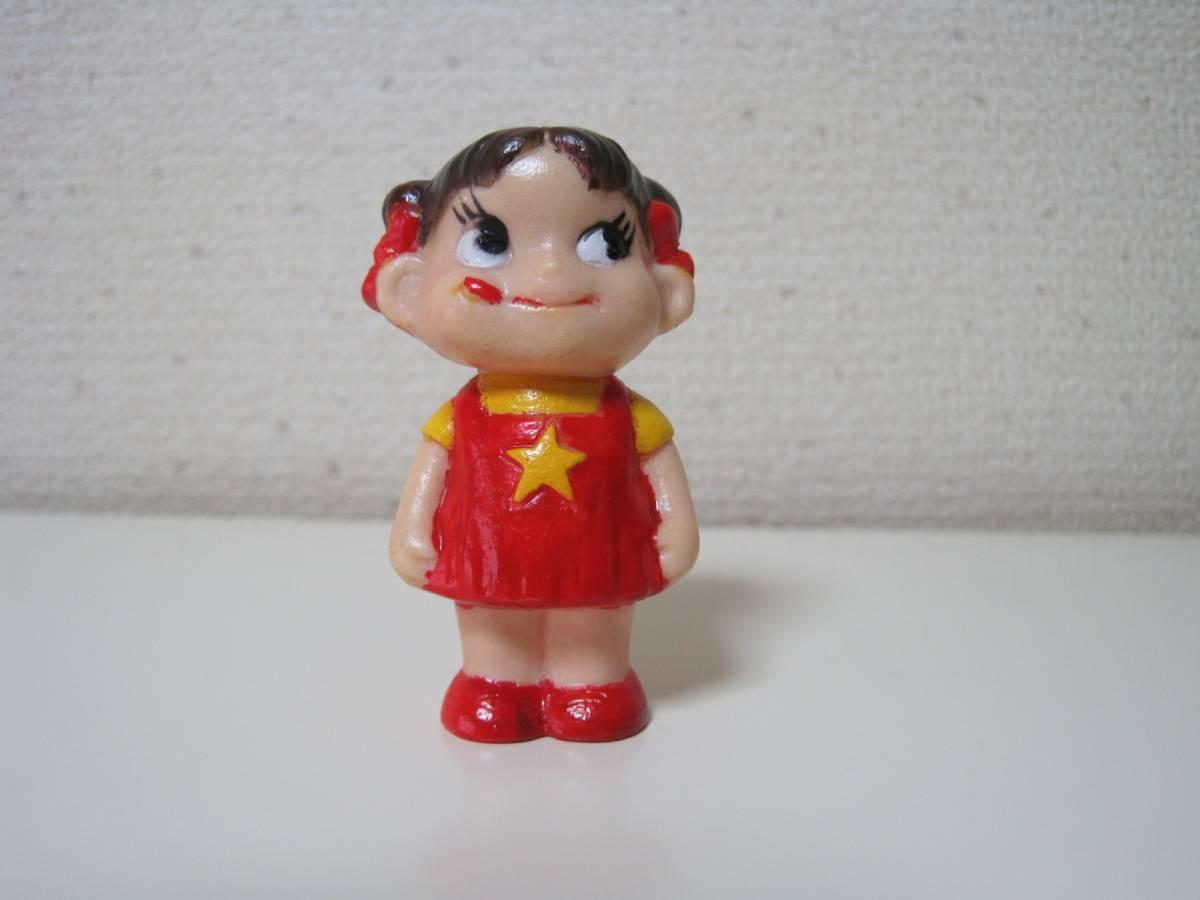 不二家 ★ペコちゃん ミニミニソフビ人形_画像1
