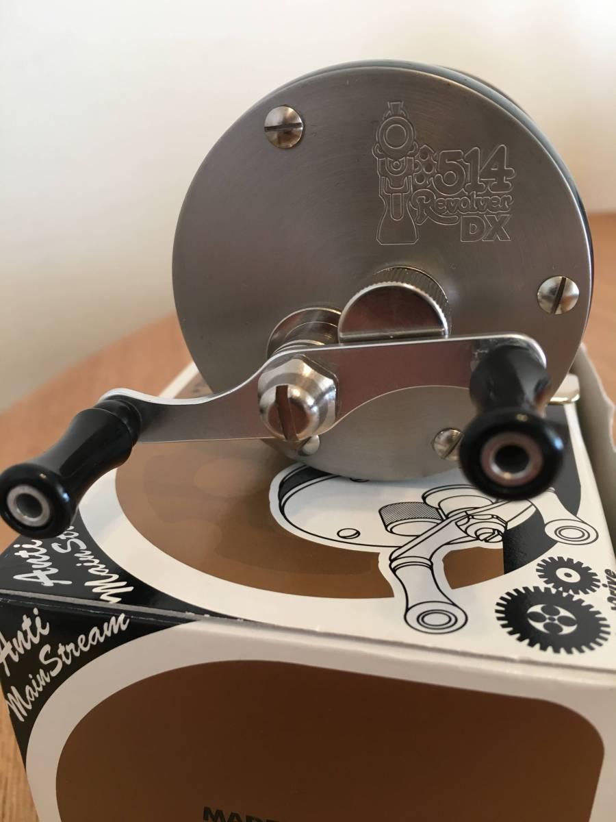 新品未使用 バスポンド(B.P.Bait) リボルバー(Revolver) 514DX 左 レフト ダイレクト リール_画像2