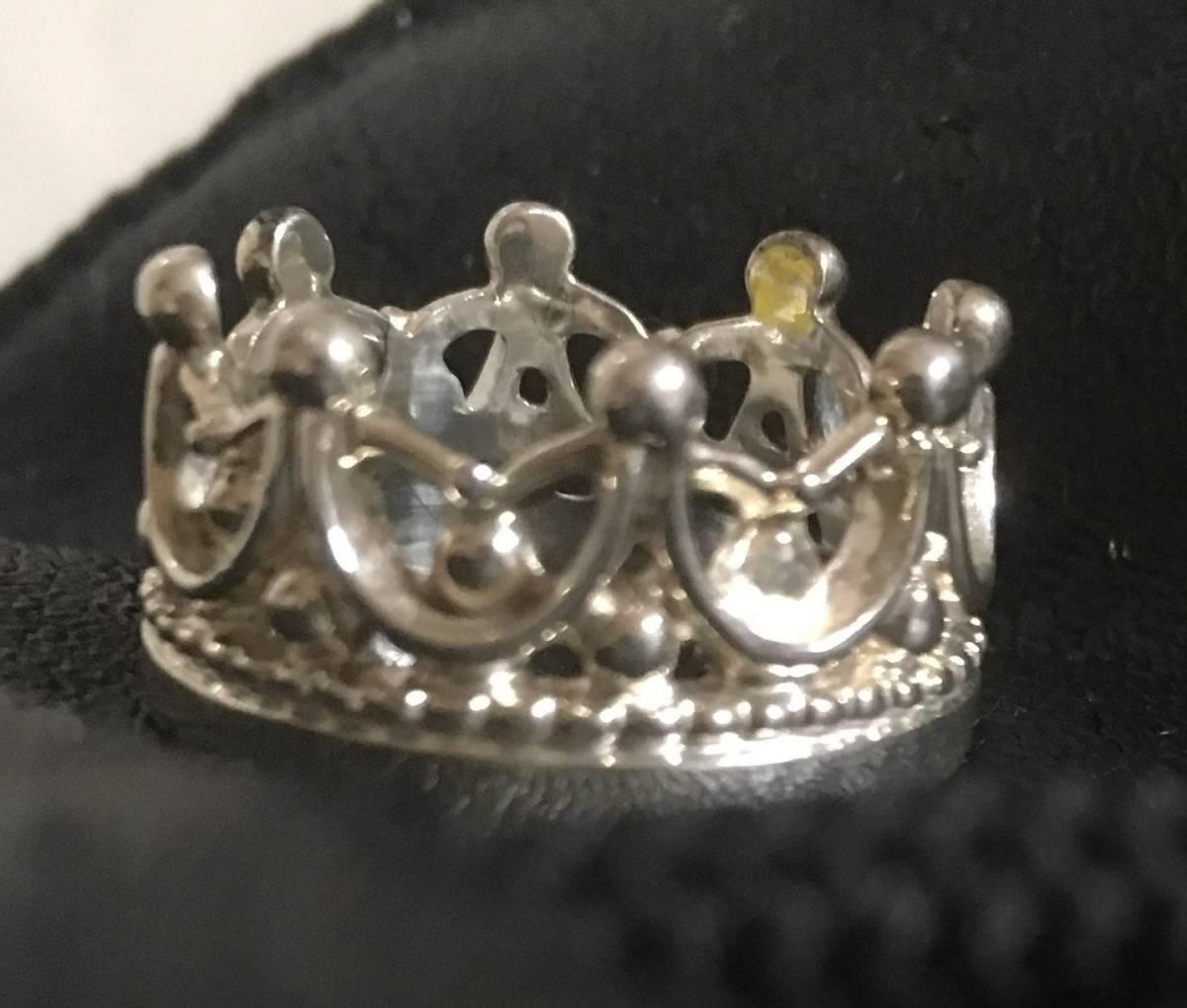 速水もこみち グッズ シルバーアクセサリー 王冠モチーフ 指輪2個セット