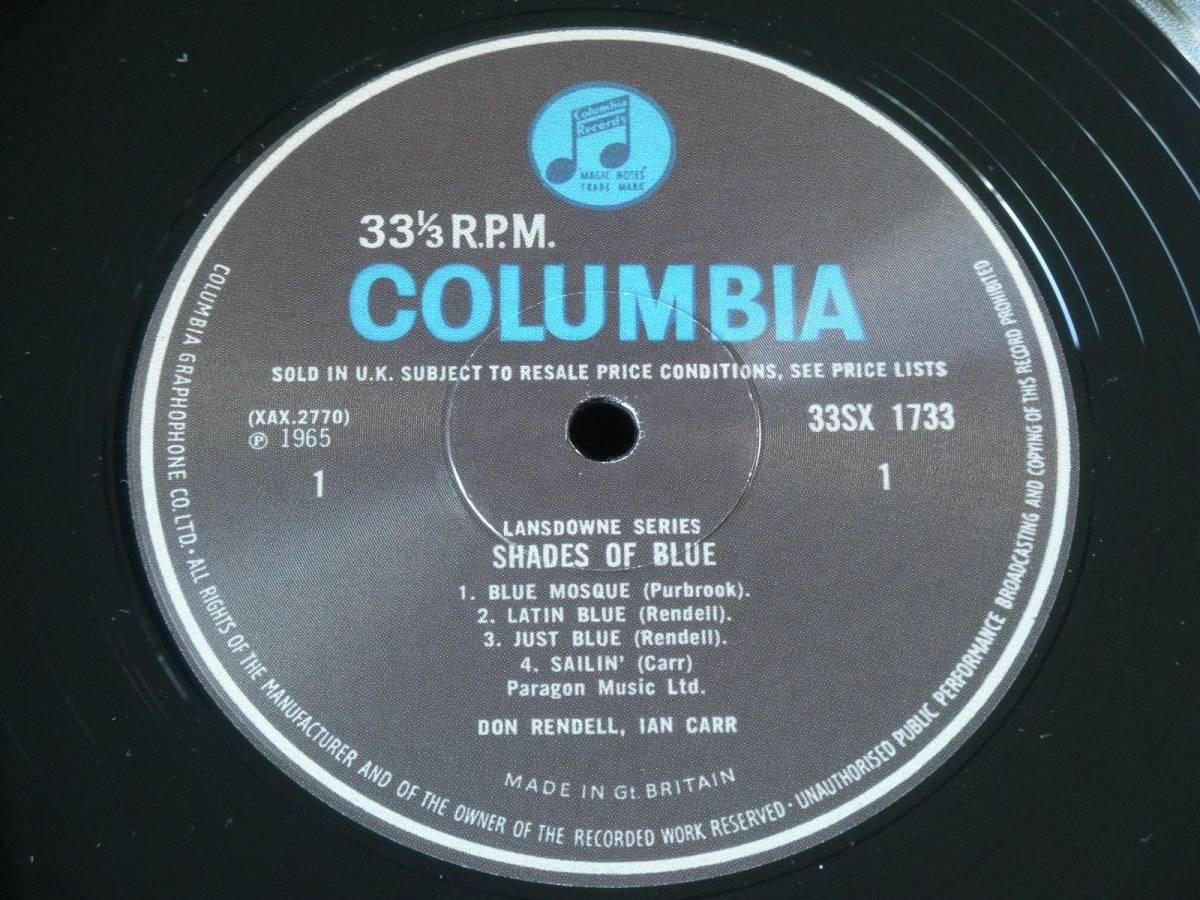 【英Columbia・Limited Reissue】Don Rendell, Ian Carr/SHADES OF BLUE★オリジナルジャケット★_画像4