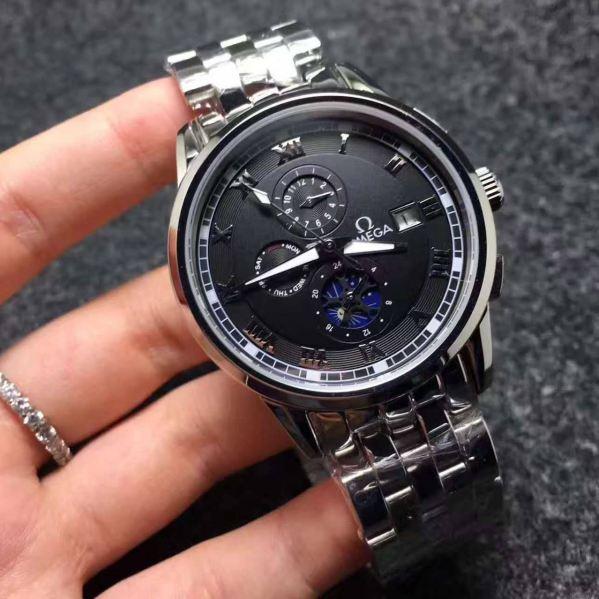 オメガ Omega 新品 メンズ 時計 腕時計 自動巻き 裏スケ