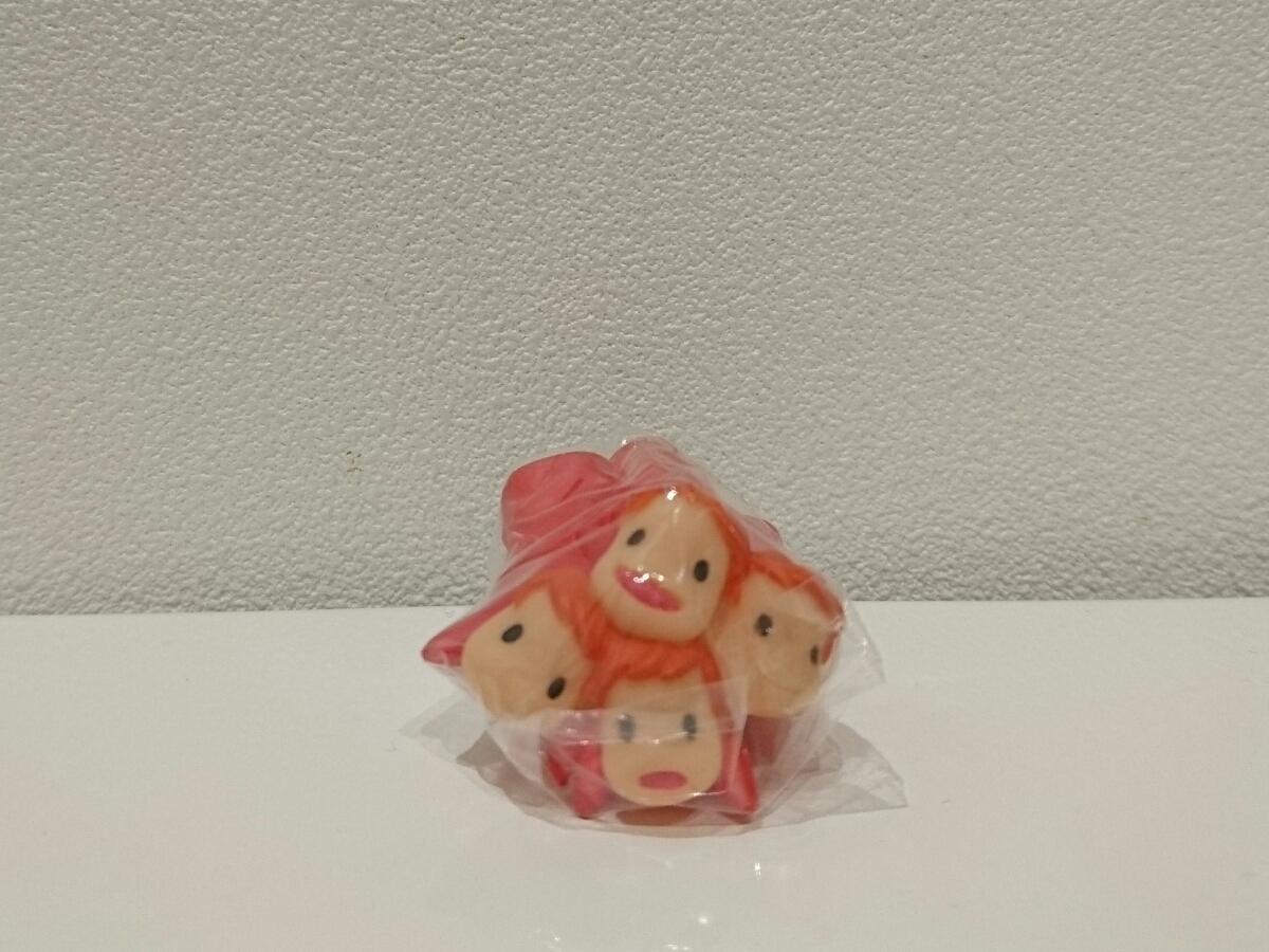 崖の上のポニョ 指人形 フィギュア ポニョ ソフビ ジブリ フィギア 妹 人形