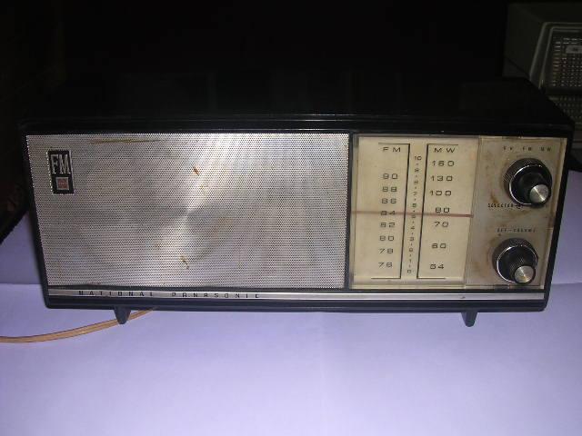 昭和レトロ 真空管ラジオナショナル パナソニック_画像3