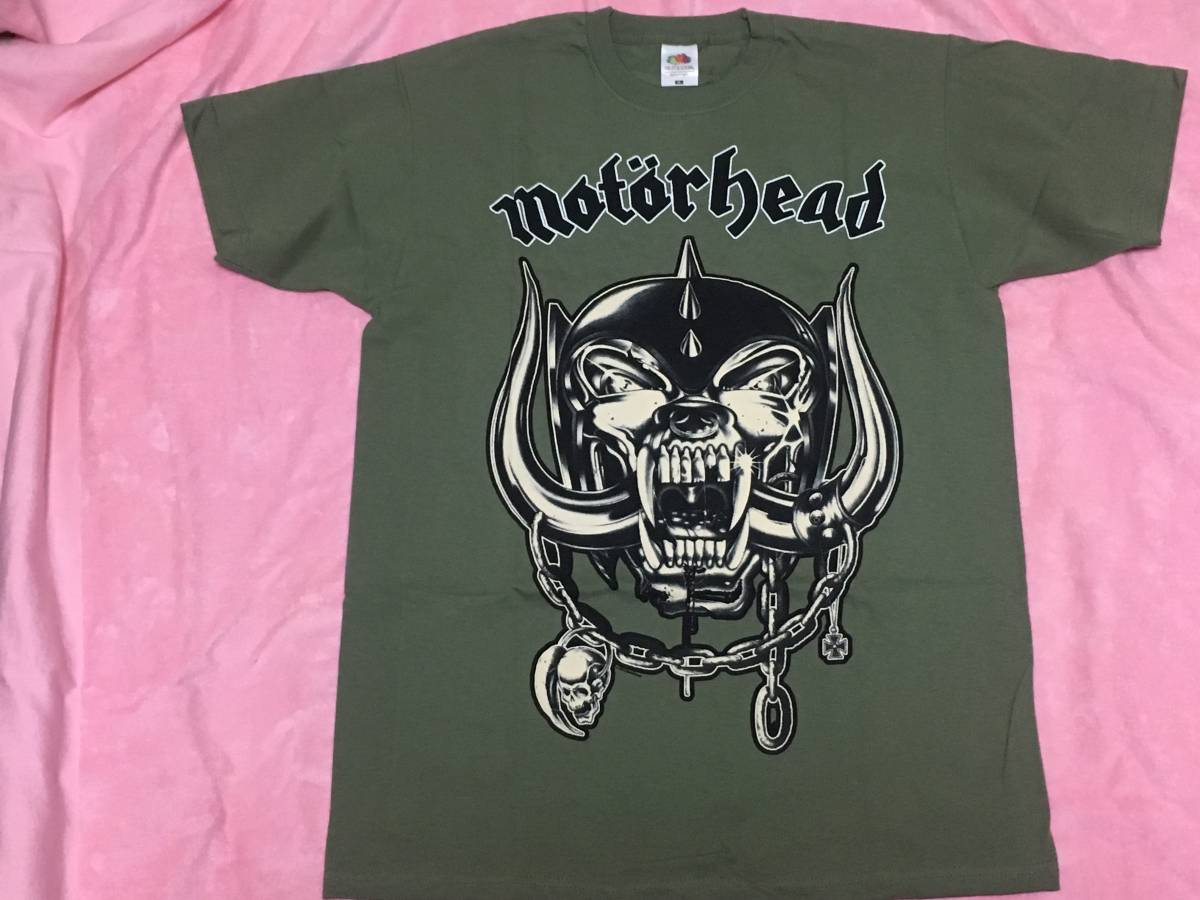 MOTORHEAD モーターヘッド Tシャツ S ロックT バンドT NWOBHM Overkill Ace Of Spades Lemmy