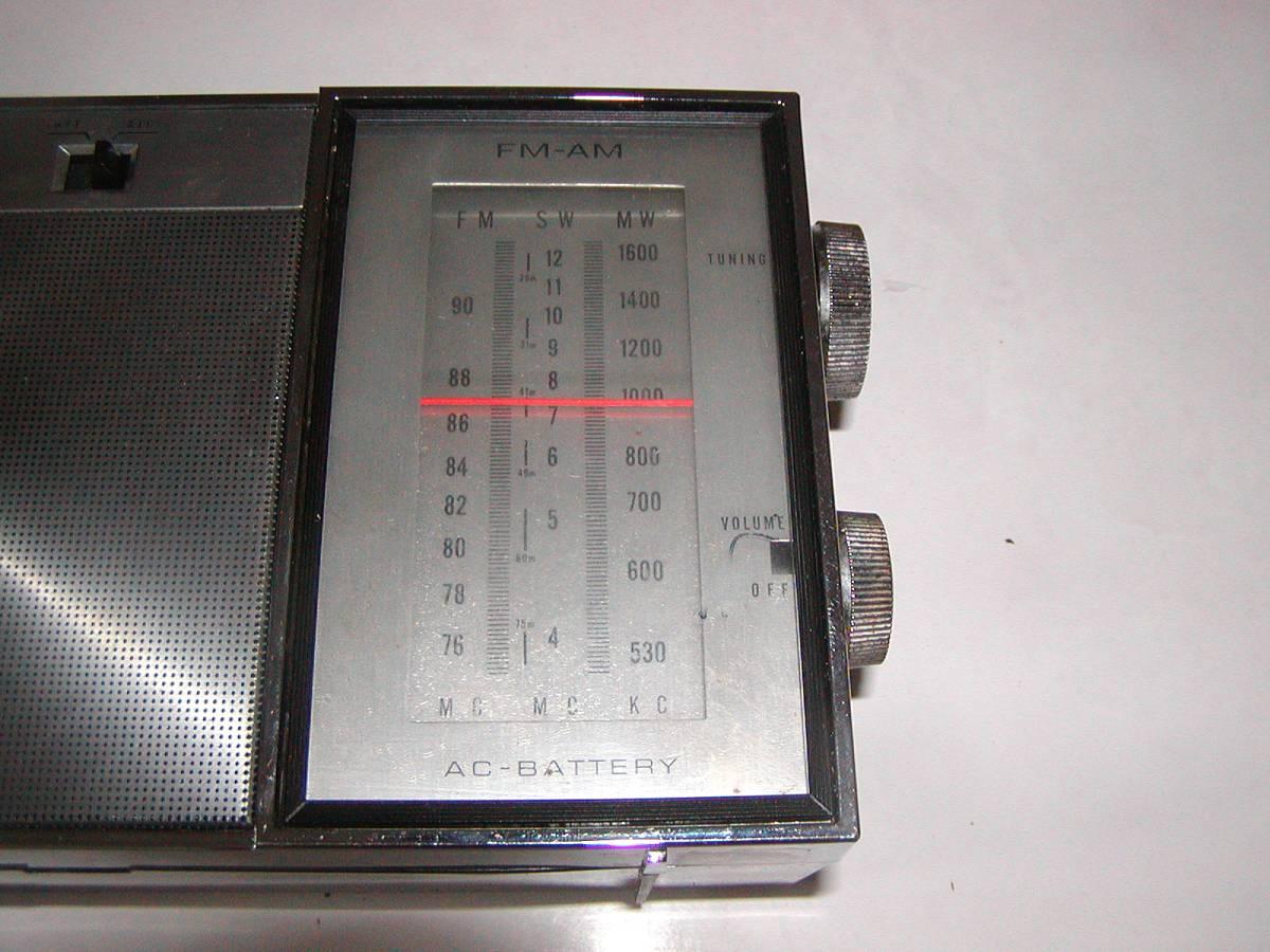 ◆NATIONAL RF-8760『前面シルバーの現代的デザイン』FM,AM,SW◆受信好調/動作良好◆_画像5