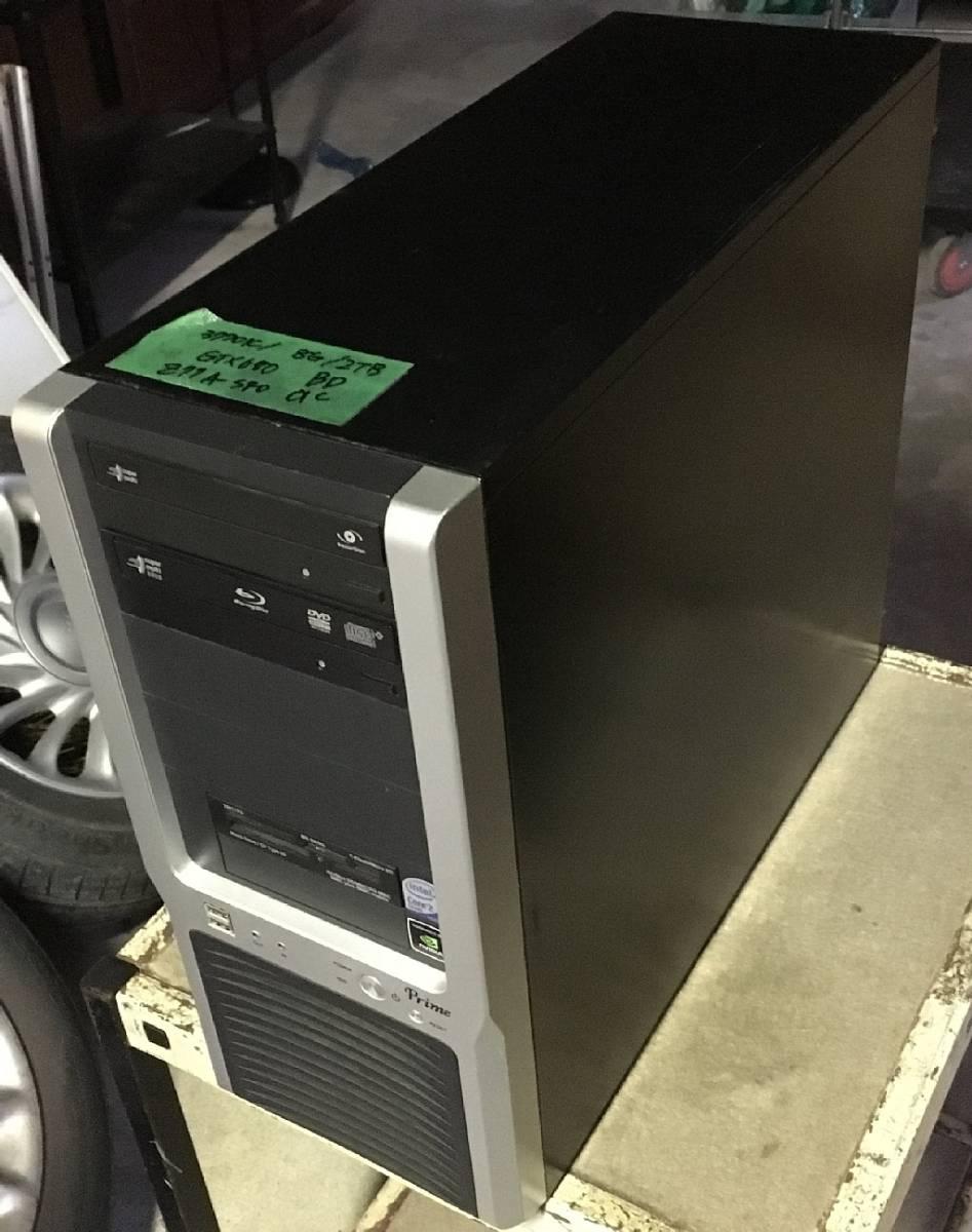 自作機 Corei7-3770K/RAM8GB/HDD2TB/GTX680/Blu-ray Z77A-S40 動作OK