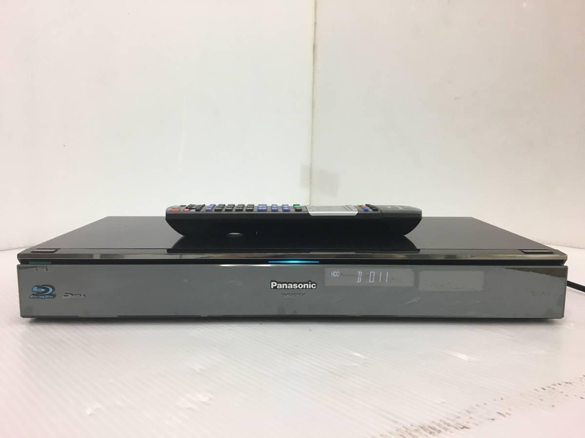 ● Panasonic パナソニック DIGA ディーガ 3D HDD搭載ハイビジョンブルーレイディスクレコーダー BD/DVD/HDD 1TB DMR-BZT820 リモコン付き