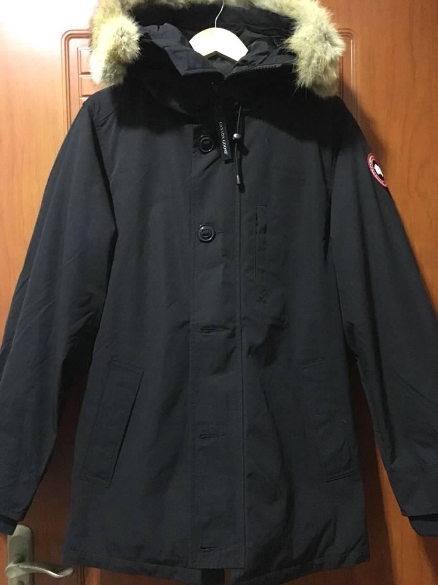 カナダグースCHATEAU PARKA*ブラックレーベル Black Lサイズ