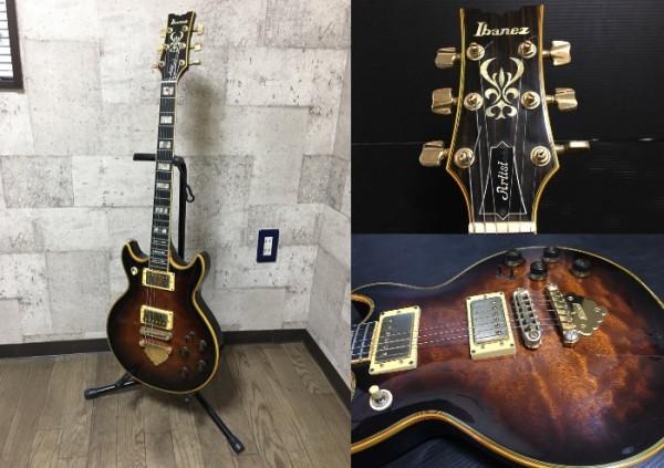 Ibanez アイバニーズ Artist AR305 ジャパンビンテージ 83年製造 エレキギター 中古_画像1