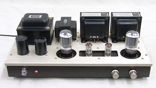 管球式ステレオ・パワーアンプ 真空管 6L6GC TANGO U-808 C-520 ジャンク品_画像2
