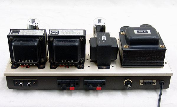 管球式ステレオ・パワーアンプ 真空管 6L6GC TANGO U-808 C-520 ジャンク品_画像5