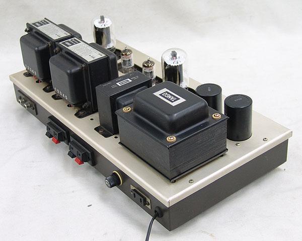 管球式ステレオ・パワーアンプ 真空管 6L6GC TANGO U-808 C-520 ジャンク品_画像4