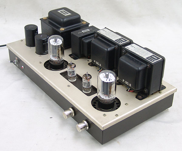 管球式ステレオ・パワーアンプ 真空管 6L6GC TANGO U-808 C-520 ジャンク品_画像3