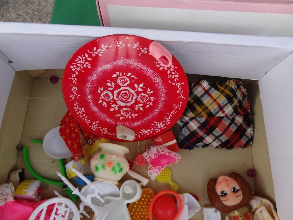 タカラ リカちゃん 着せ替え人形 洋服 靴 等 小物 セット 昭和レトロ 当時物 _画像2