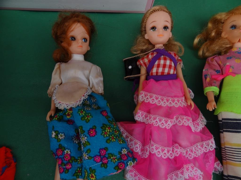 タカラ リカちゃん 着せ替え人形 洋服 靴 等 小物 セット 昭和レトロ 当時物 _画像5