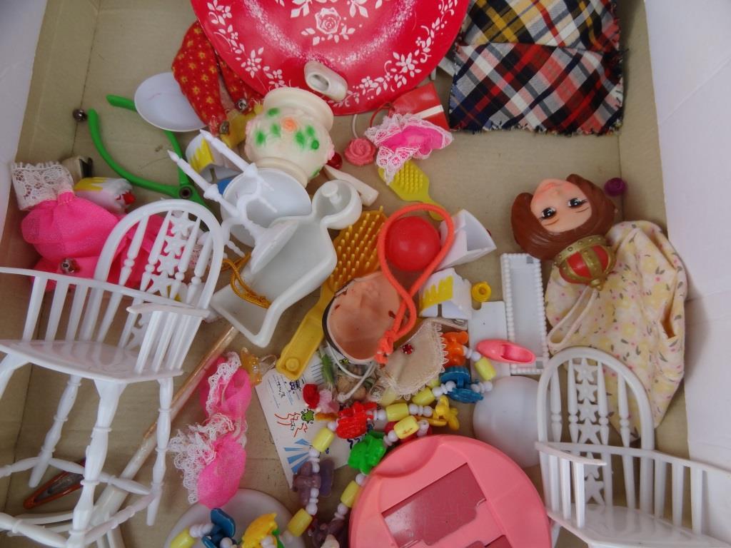 タカラ リカちゃん 着せ替え人形 洋服 靴 等 小物 セット 昭和レトロ 当時物 _画像3