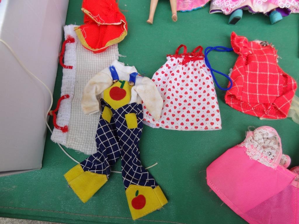 タカラ リカちゃん 着せ替え人形 洋服 靴 等 小物 セット 昭和レトロ 当時物 _画像8