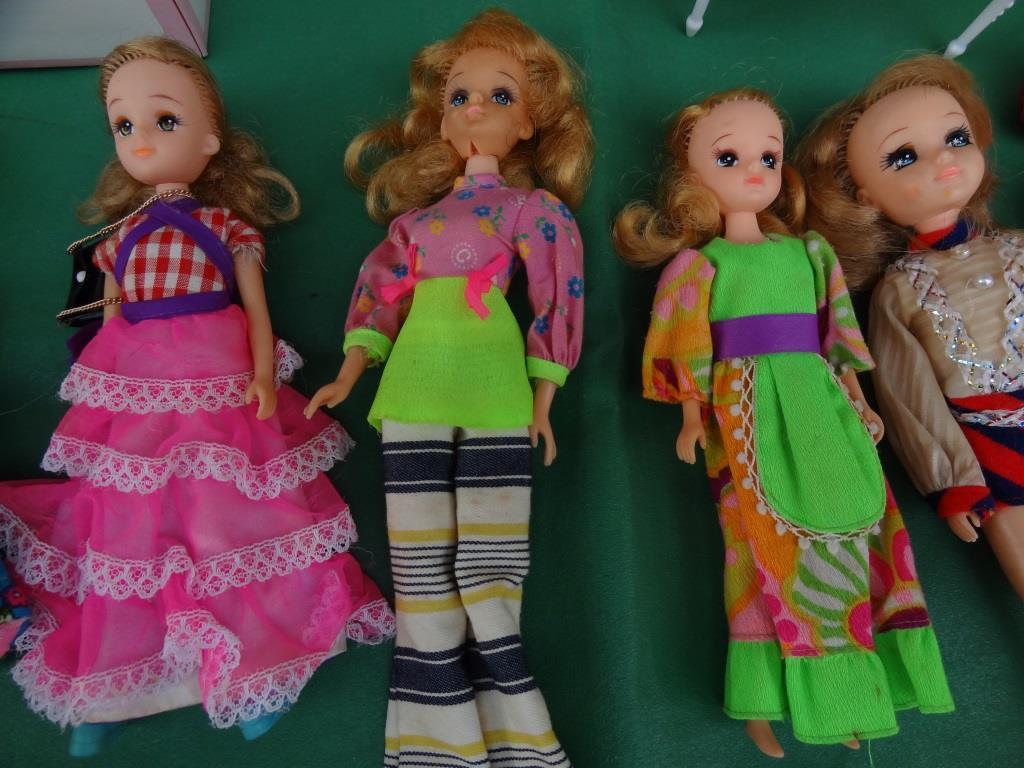 タカラ リカちゃん 着せ替え人形 洋服 靴 等 小物 セット 昭和レトロ 当時物 _画像6
