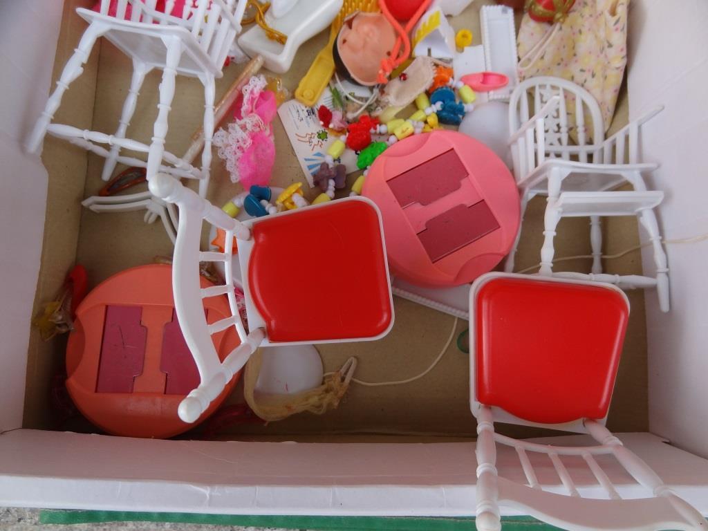 タカラ リカちゃん 着せ替え人形 洋服 靴 等 小物 セット 昭和レトロ 当時物 _画像4
