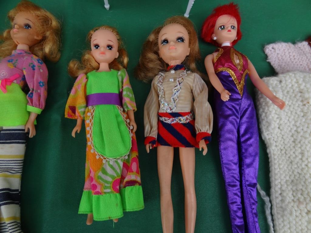 タカラ リカちゃん 着せ替え人形 洋服 靴 等 小物 セット 昭和レトロ 当時物 _画像7