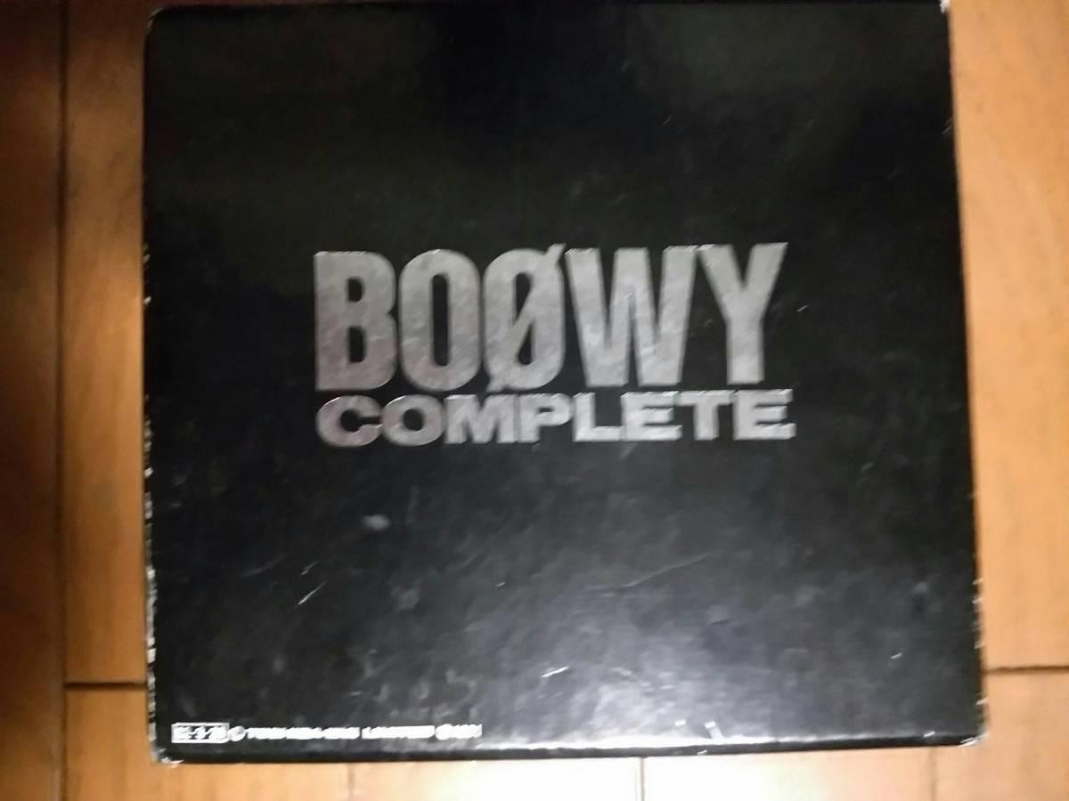 【BOOWY COMPLETE】CD10枚セット 氷室京介、布袋寅泰他