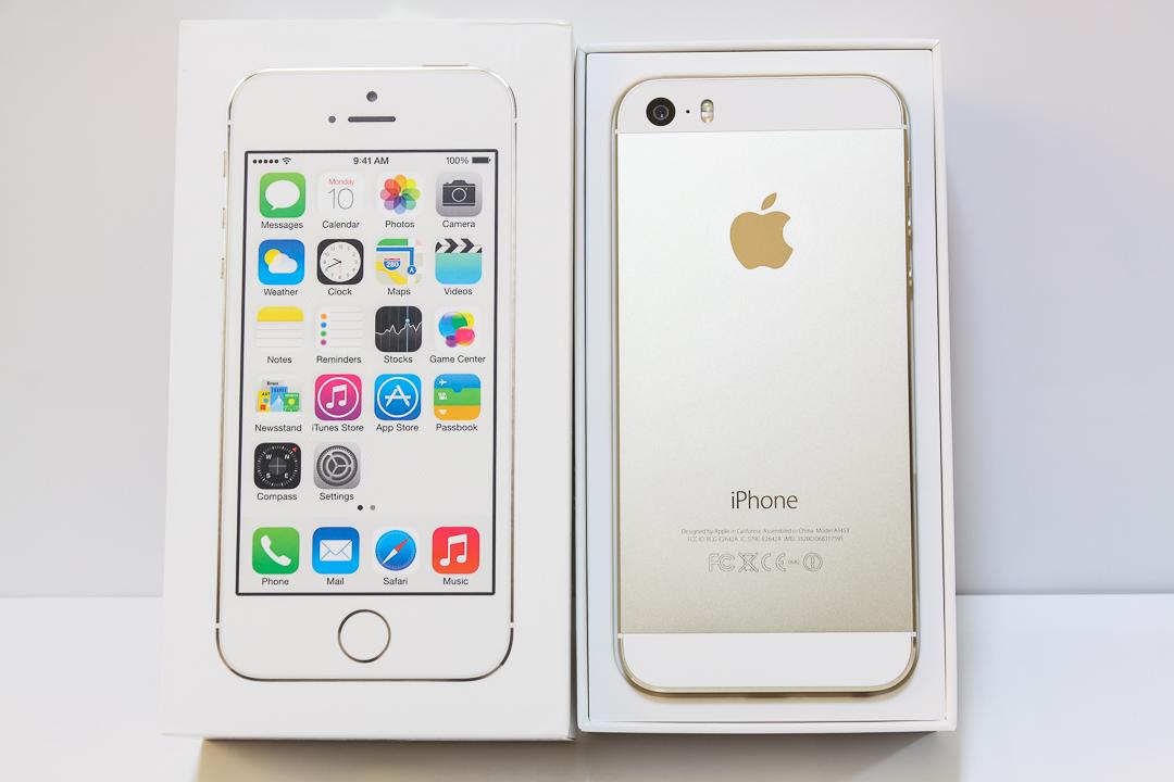 ★ iPhone 5s 32GB ゴールド / docomo / 判定〇 / 1円スタート ★_画像2