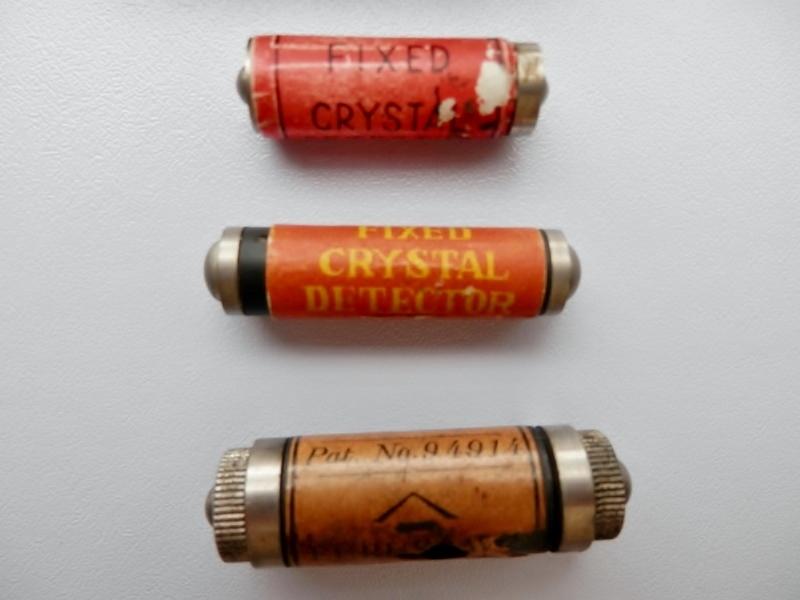 動作品の鉱石検波器を3つまとめて+おまけにもうひとつ=4つの動作品(鉱石・ゲルマ・真空管ラジオの好きな方に)_画像5