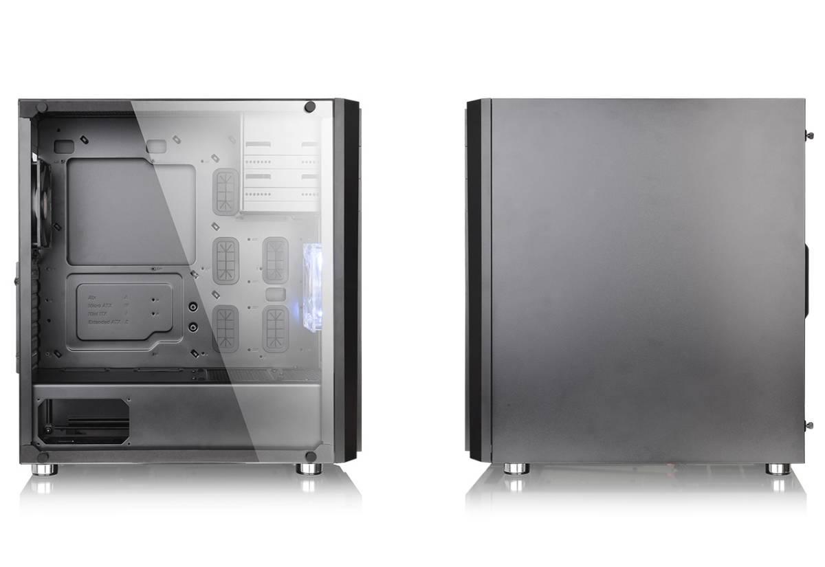 新品 ☆Thermaltake Versa H26 Black /w casefan ミドルタワー型PCケース [ブラックモデル] CS7070 CA-1J5-00M1WN-01 ☆_画像2