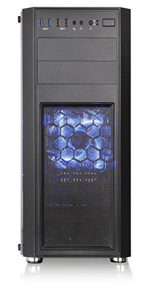新品 ☆Thermaltake Versa H26 Black /w casefan ミドルタワー型PCケース [ブラックモデル] CS7070 CA-1J5-00M1WN-01 ☆_画像4