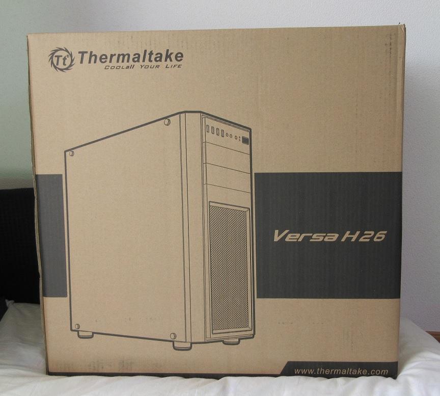 新品 ☆Thermaltake Versa H26 Black /w casefan ミドルタワー型PCケース [ブラックモデル] CS7070 CA-1J5-00M1WN-01 ☆_画像5