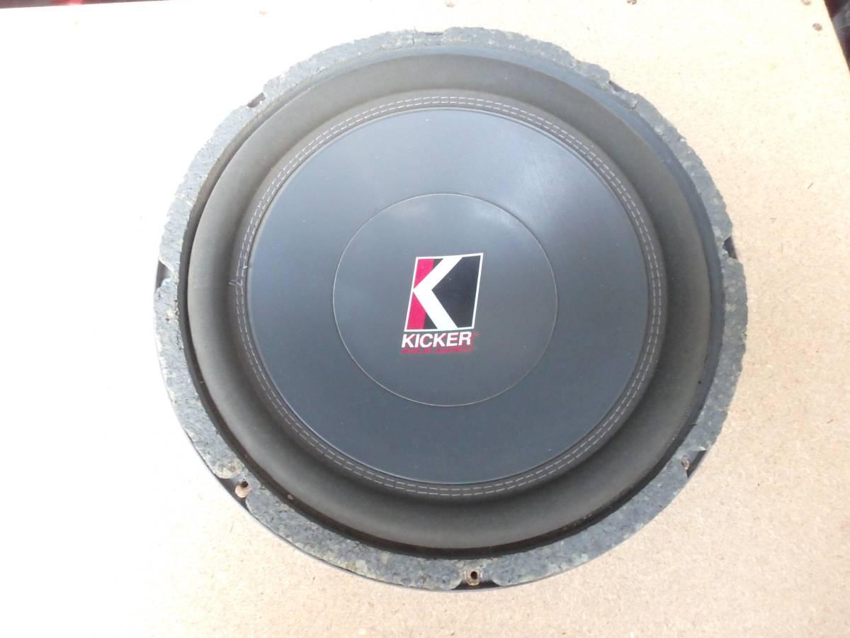 KICKER キッカー XPL ソロバリック 10インチ 4Ω_画像3