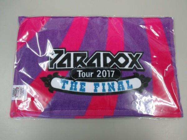 ★布袋寅泰グッズRRC フェイスタオル パープル「HOTEI Paradox Tour 2017 The FINAL Rock'n Roll Circus」横浜アリーナ★