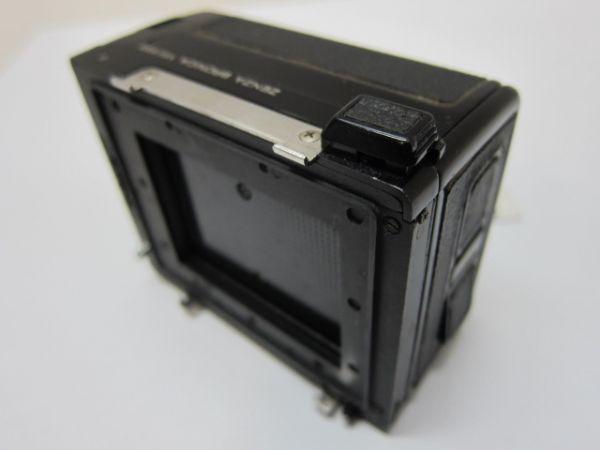 S33AC Zenza Bronica ETR 120 Film Back フィルムホルダー ジャンク 消費税0円_画像4
