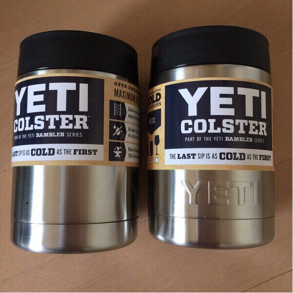 新品未使用★YETIイエティRambler 12-oz.保冷缶ホルダー2個セット★YETICOOLERSアウトドア保温保冷