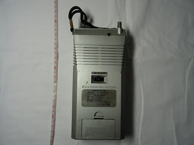 (ジャンク品) フェアメイト SPH-500 マルチバンドレシーバー FAIR MATE_画像4
