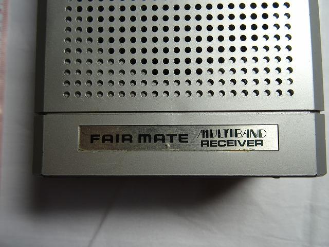 (ジャンク品) フェアメイト SPH-500 マルチバンドレシーバー FAIR MATE_画像2