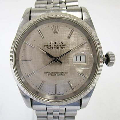 ROLEX ロレックス デイトジャスト 16234 メンズ 自動巻き 腕時計 ジャンク品
