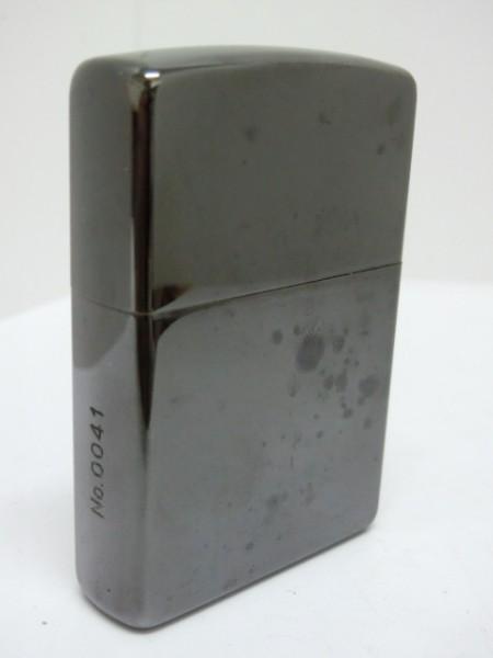 【コレクター放出品】レア/Zippo/TRAVIS WALKER/限定モデル №0041/2005年7月製/G-05/メタリックブラック/トラヴィスワーカー/クロス_画像2