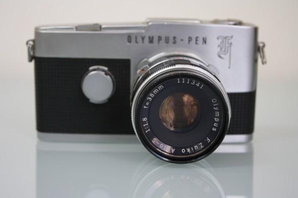 OLYMPUS PEN F /F.Zuiko Auto-S 38mm F1.8