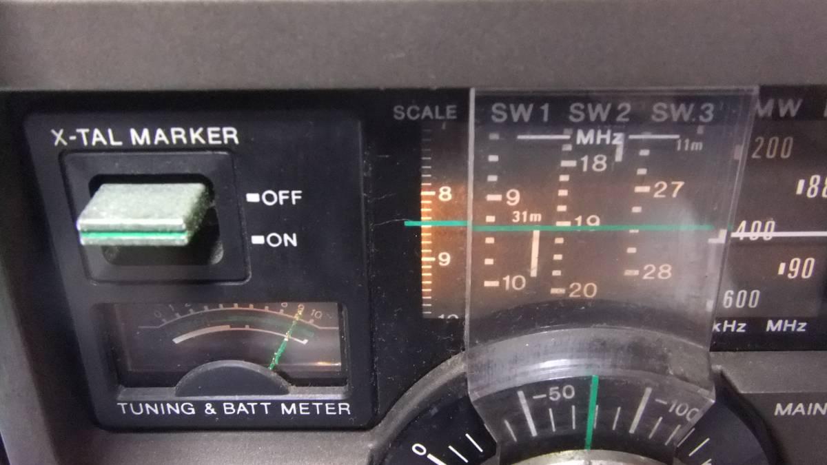 SONY ソニー SKY SENSOR  スカイセンサー  ICF-5900 ラジオ 受信確認済み ジャンク_画像3