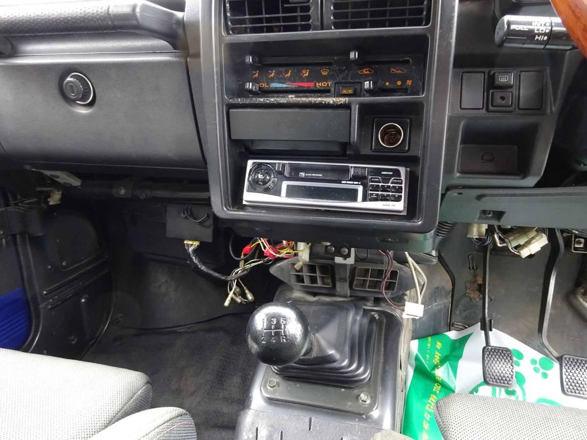 ジムニー(JA11改) 車高公認済み(緩衝装置) 車検証記載車高183cm 5速ミッション車_画像6