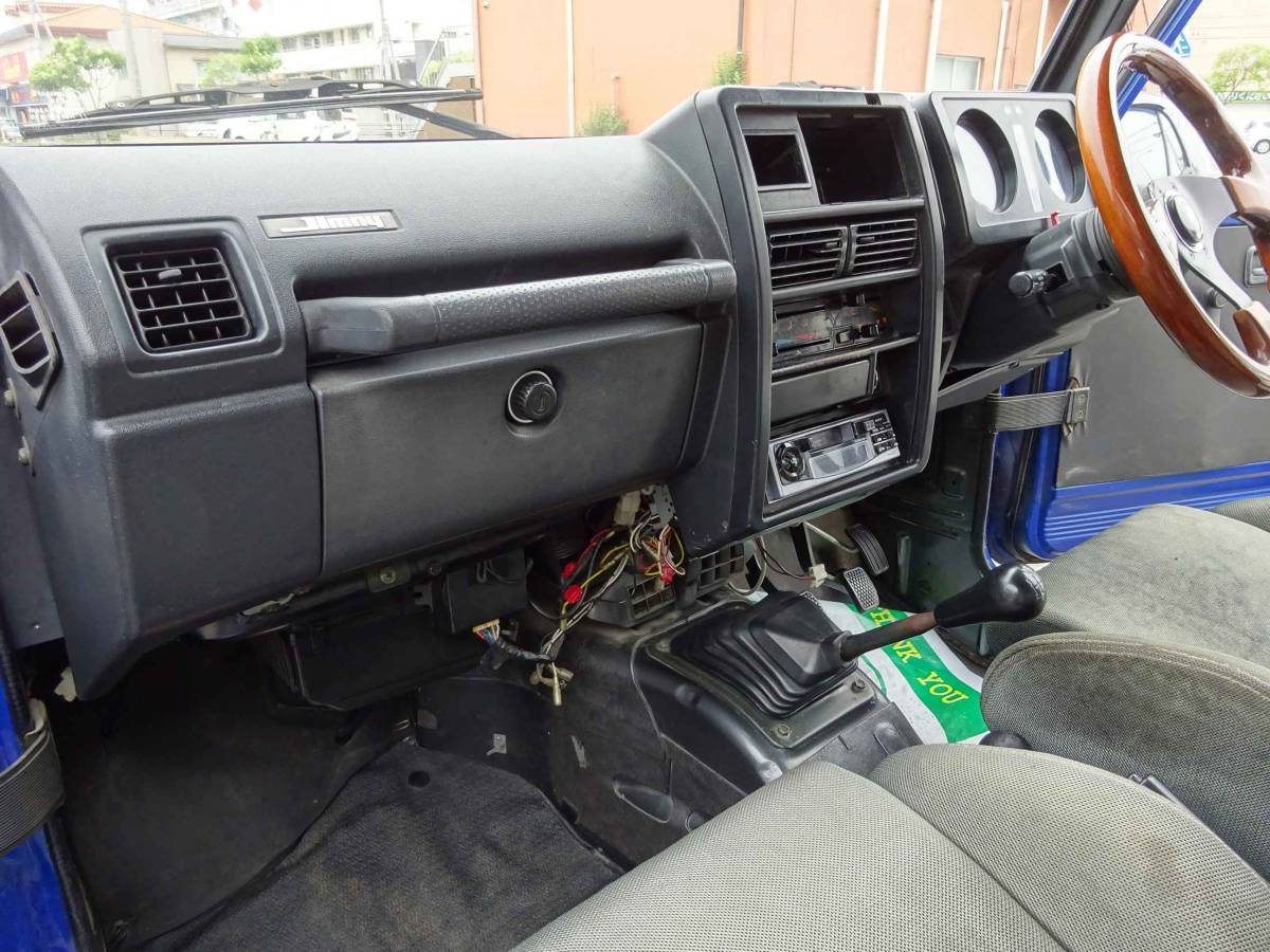 ジムニー(JA11改) 車高公認済み(緩衝装置) 車検証記載車高183cm 5速ミッション車_画像9