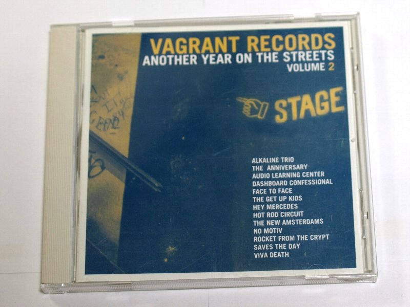 VAGRANT RECORDS ANOTHER YEAR ON THE STREETS VOLUME 2 / V.A. CD Face To Face, Saves The Day, Dashboard Confessional, Alkaline Trio_画像1